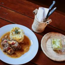 restaurace, Ranč Dalu, kozohlody, menu